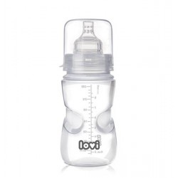 21/570 Samosterilizující láhev LOVI 250ml 0% BPA Super vent