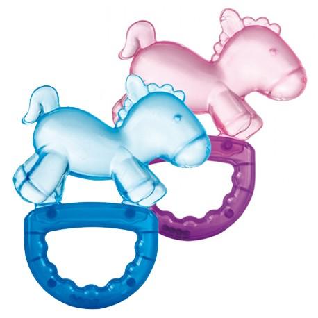 Canpol babies Chladící kousátko s chrastítkem koník modrý