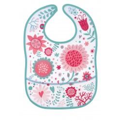 Canpol babies Bryndák s kapsou WILD NATURE růžový 9/234_pin