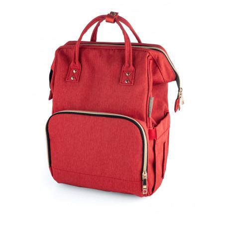Canpol babies Přebalovací batoh LADY MUM červený