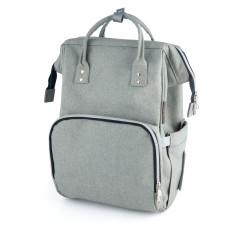 Canpol babies Přebalovací batoh LADY MUM šedý