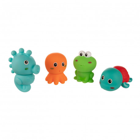 Canpol babies Sada kreativních hraček do vody OCEÁN 4 ks Canpol 79/105