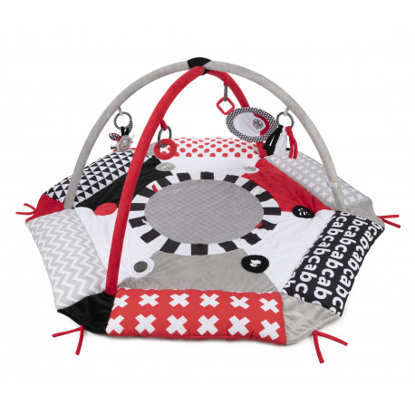 Canpol babies Kontrastní hrací deka SENSORY