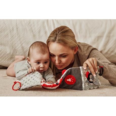 Canpol babies Kontrastní edukativní knížka SENSORY