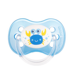 Canpol babies Dudlík 18m+ silikonový třešinka NATURE