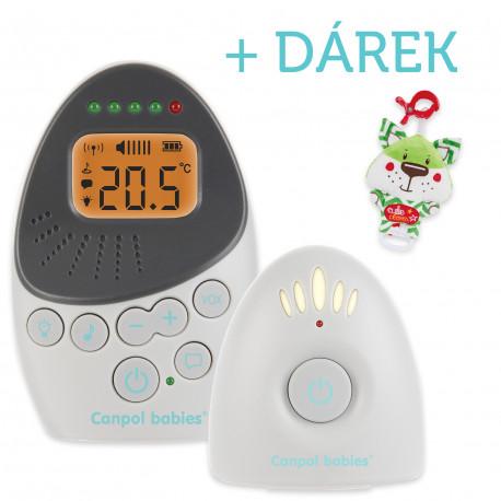 Canpol babies Elektronická obousměrná dětská chůvička EasyStart Plus