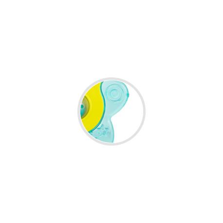 Canpol babies Chladící kousátko hvězdička s chrastítkem tyrkysová