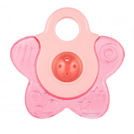Canpol babies Chladící kousátko hvězdička s chrastítkem růžová