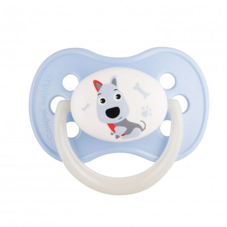 Canpol babies Dudlík kaučukový třešinka 0-6m CUTE ANIMALS