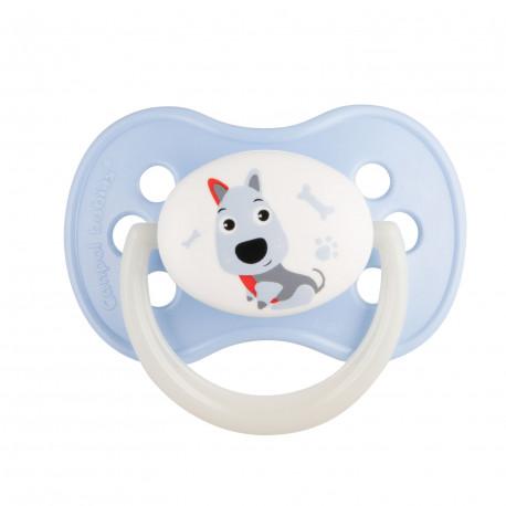 Canpol babies Dudlík kaučukový třešinka 6-18m CUTE ANIMALS