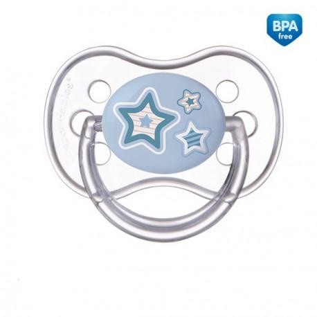 22/580 Šidítko 0-6m silikonové symetrické Newborn Baby