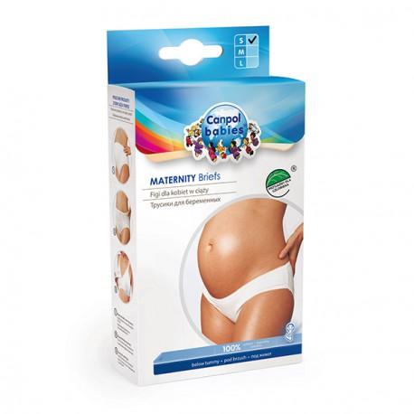 Canpol babies Těhotenské kalhotky nízké S