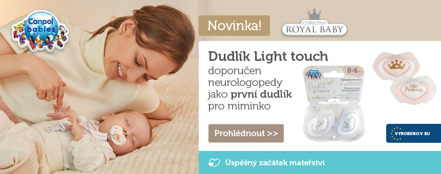 ROYAL BABY Light touch